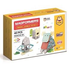 Magformers Animal Jumble 40pc Set