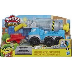 Playdoh Wheels Cement Truck