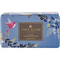 Sara Miller Chelsea - Lemongrass Jasmine & Cedarwood Blue Soap