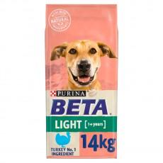 Beta Light Dog Turkey 14Kg Dog Food