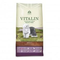Vitalin Natural Adult Grain Free Duck & Potato Dog Food
