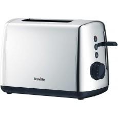 Breville VTT548 Vista 2 Slice Toaster - Stainless Steel