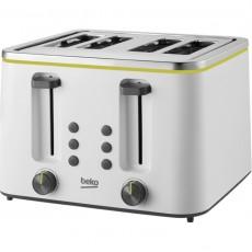 Beko TAM4341W New Line 4 Slice Toaster