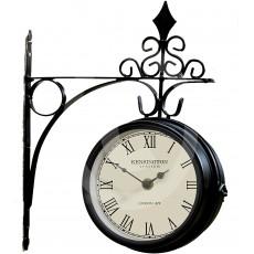 Garden & Home Co. Kensington Station Clock - Black