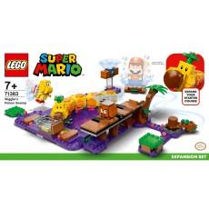 Lego 71383 Super Mario Wiggler's Poison Swamp Expansion Set