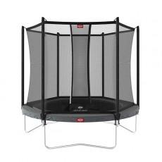 BERG Favorit Regular 200 (6.5ft) Grey Trampoline & Safety Net Comfort