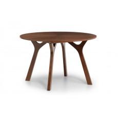 Julian Bowen Huxley Round Table Walnut