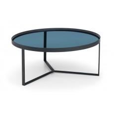 Julian Bowen Loft Coffee Table - Smoked Glass