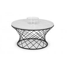 Julian Bowen Trevi Real Marble Coffee Table