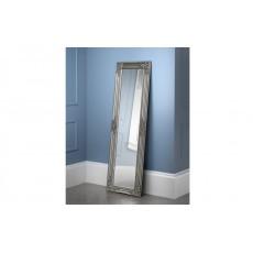 Julian Bowen Palais Pewter Dress Mirror
