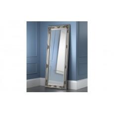 Julian Bowen Palais Pewter Lean-To Dress Mirror