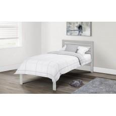 Julian Bowen Slocum Bed Light Grey 90cm