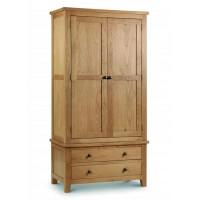 Julian Bowen Marlborough Oak Combination Wardrobe