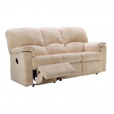 G Plan Chloe Fabric 3 Seater Power Recliner Sofa
