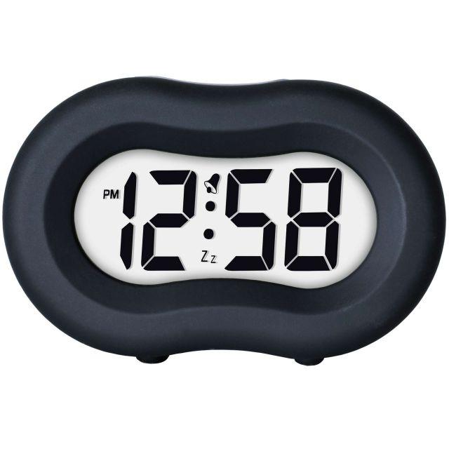 image-Vierra Liquorice Black Alarm Clock