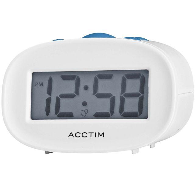 image-Libra White Alarm Clock