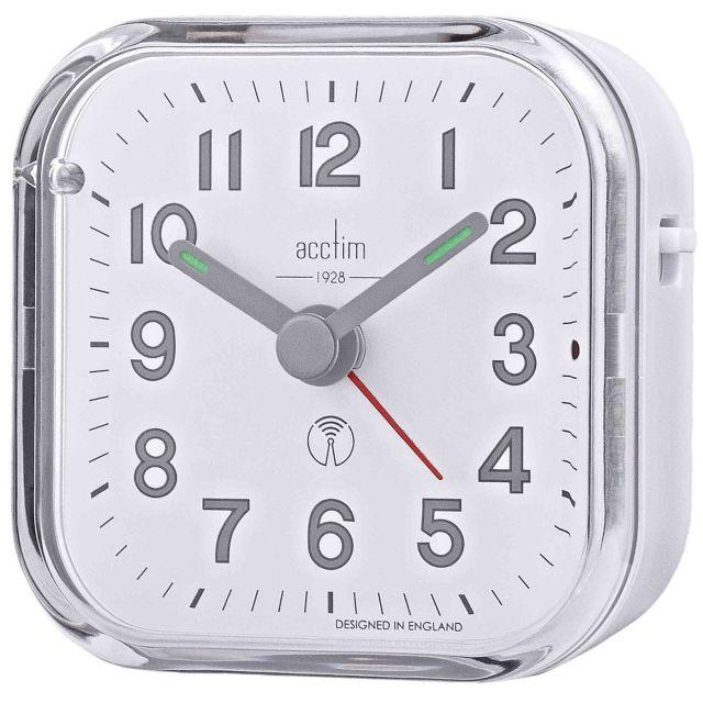 image-Fordham White Alarm Clock