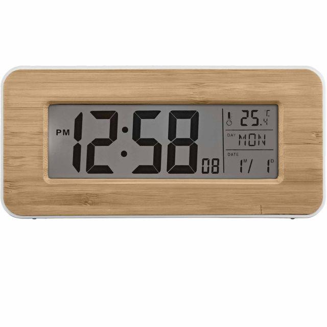 image-Otto Bamboo Alarm Clock