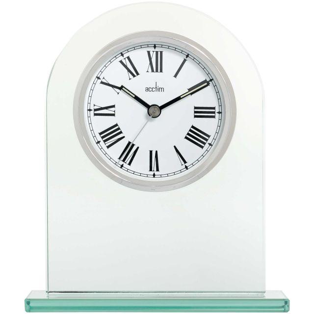 image-Adelaide Silver Mantel Clock